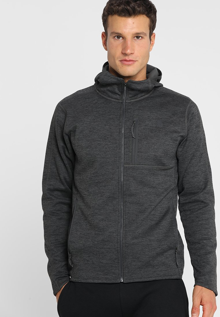 The North Face - Fleece jacket - dark grey heather