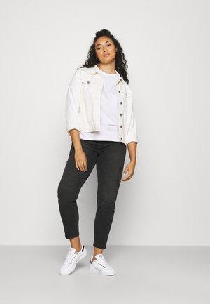 PCRIA FOLD UP TEE 2 PACK  - T-shirt basic - black/white