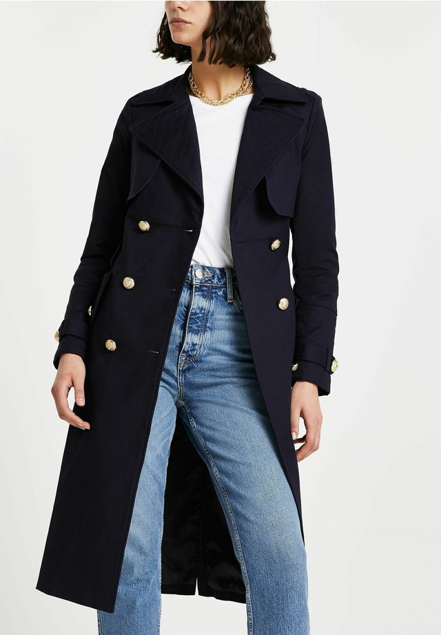NAVY  - Trench - blue