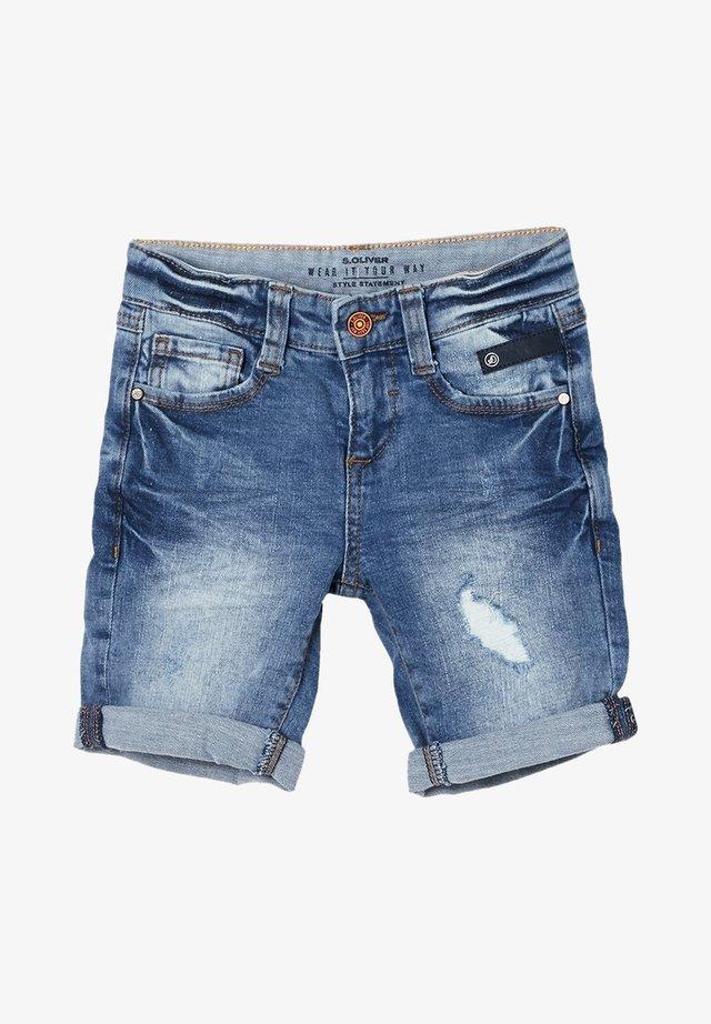 Denim shorts - stone wash