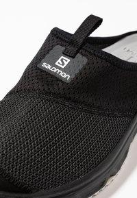 Salomon - RX SLIDE 4.0 - Walking sandals - black/ebony/white - 5