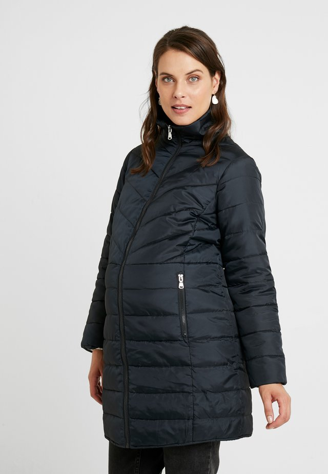 SUSTAINABLE LEAD IN LONG PADDED - Short coat - navy
