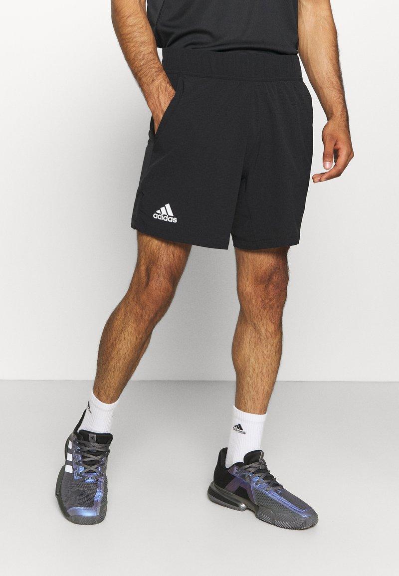 adidas Performance - ERGO SHORT - Sportovní kraťasy - black/white