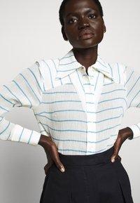 Victoria Victoria Beckham - Button-down blouse - sky blue - 6