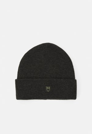 LEAF BEANIE UNISEX - Huer - forrest night