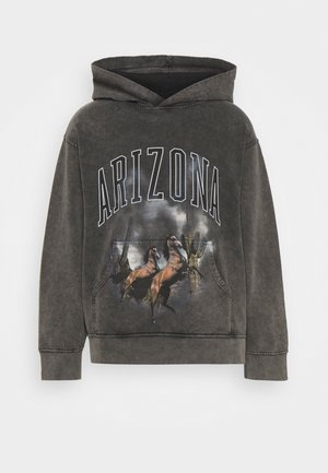ARIZONA SCREEN HOODIE - Huppari - charcoal