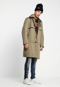 Diesel - J-KODORY JACKET - Short coat - beige/olive - 1