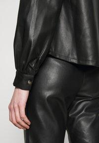 Vero Moda - VMSERENA SHIRT - Camisa - black - 5