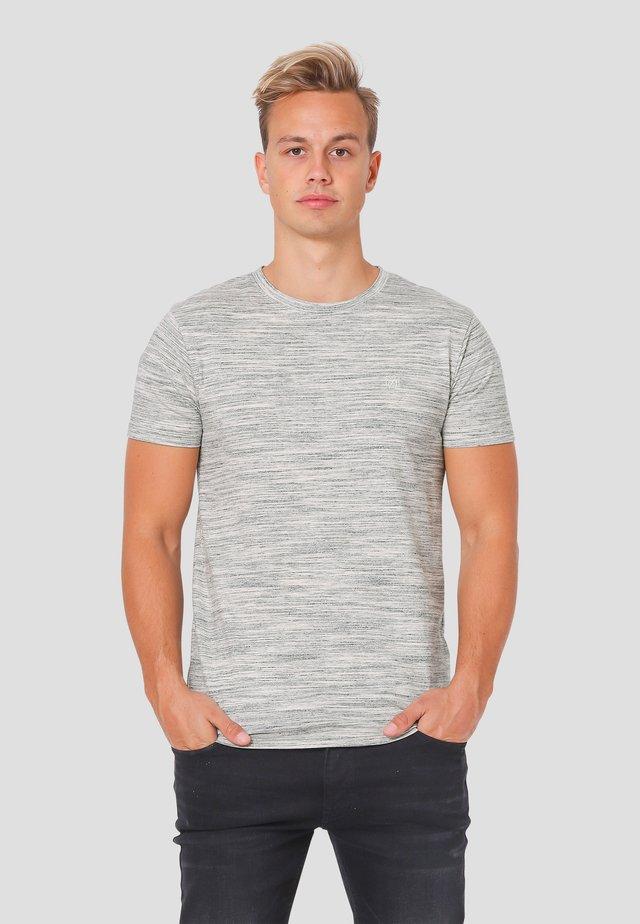 T-shirt med print - grey mix