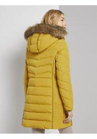 TOM TAILOR - SIGNATURE PUFFER COAT - Winter coat - california sand yellow - 2