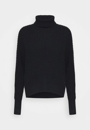 JAIDA TURTLENECK - Jumper - black