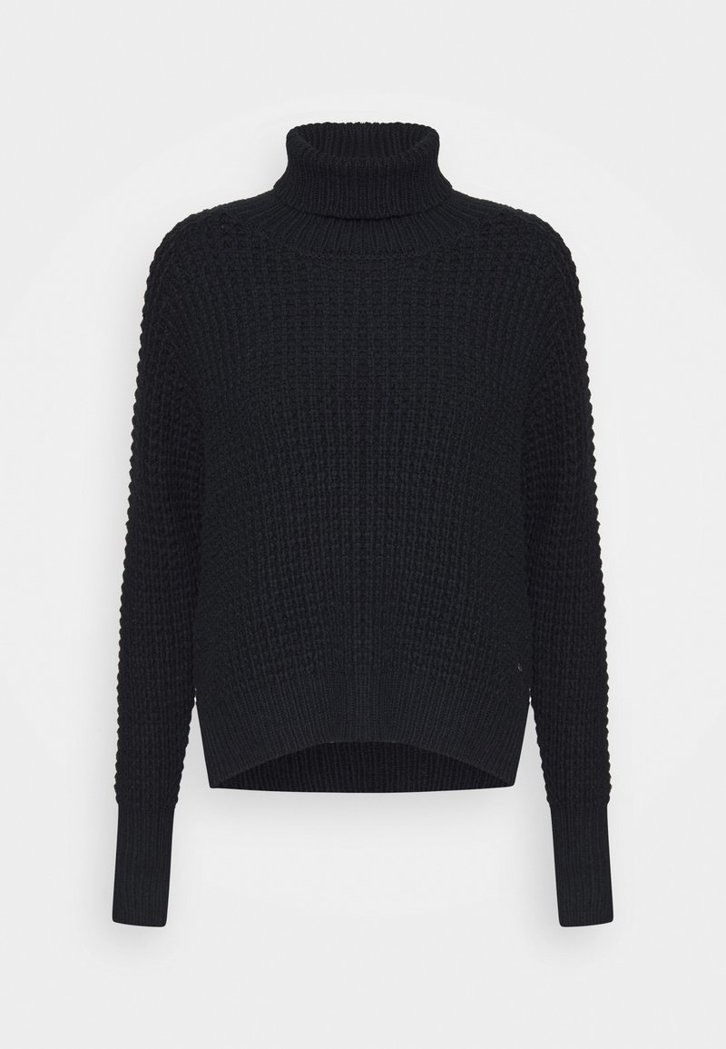 Twist & Tango - JAIDA TURTLENECK - Svetr - black