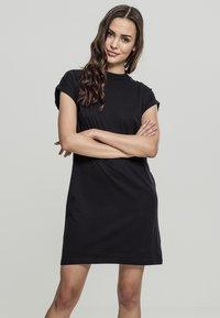 Urban Classics - Jersey dress - black - 0