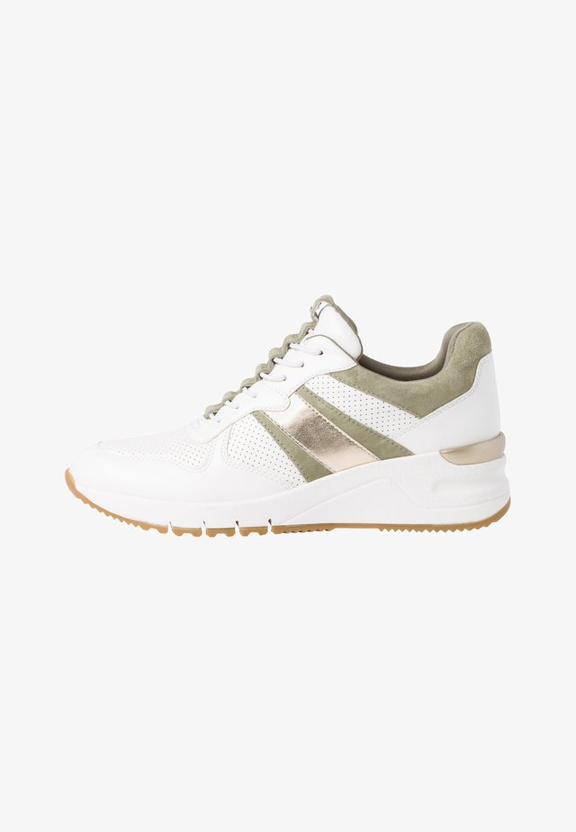 Sneakers laag - wht/pistaccio