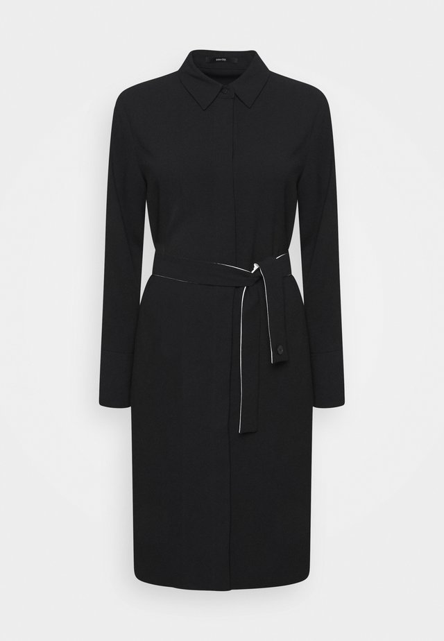 QUEORINA - Shirt dress - black
