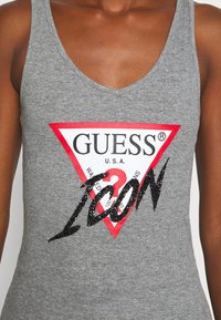 Guess - MYRELLA  - Top - stone heather grey - 5