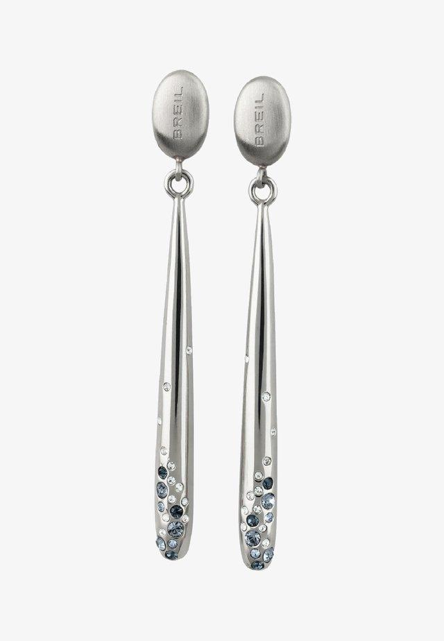 ILLUSION - Earrings - silver-coloured