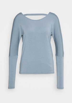 DRAPEY V BACK - Long sleeved top - moonstone