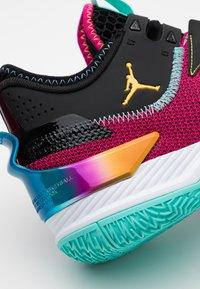 Jordan - WESTBROOK ONE TAKE - Koripallokengät - vivid pink/laser orange/black/dynamic turquoise - 5