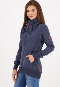 alife & kickin - VIVIANAK - Zip-up hoodie - marine - 3