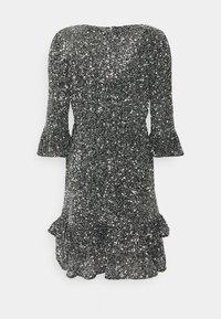MICHAEL Michael Kors - RUFFLE MINI  - Cocktail dress / Party dress - silver-coloured - 6