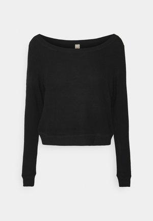 CALM - Pyjamasoverdel - black