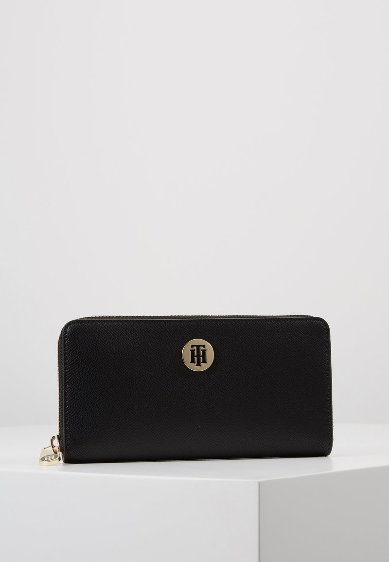 Tommy Hilfiger - HONEY LRG ZA - Lommebok - black