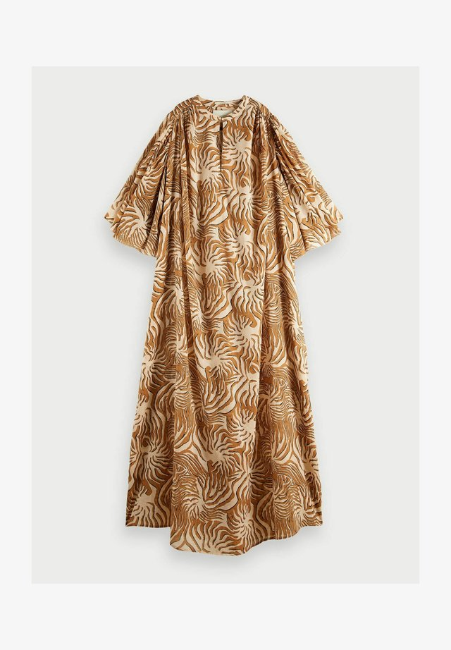 KAFTAN - Korte jurk - brown