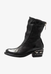 A.S.98 - Cowboy/biker ankle boot - nero - 1