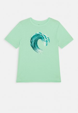 BOYS VALUE GRAPHIC - Print T-shirt - surf spray