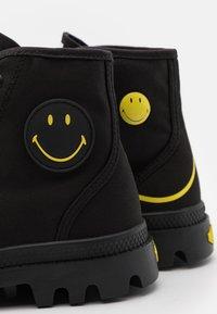 Palladium - PAMPA HI BE KIND UNISEX - Lace-up ankle boots - black - 5
