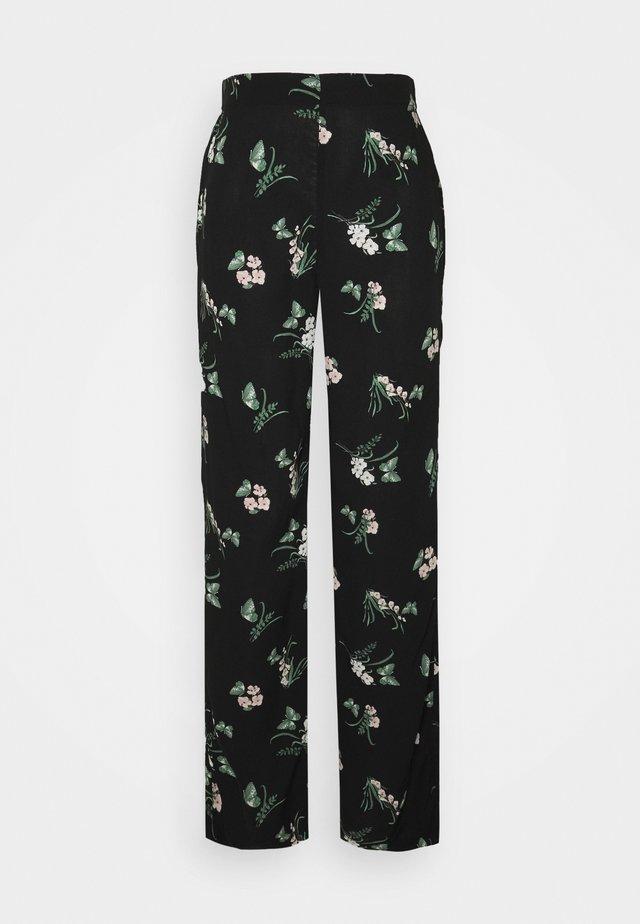 VMSIMPLY EASY  WIDE PANT - Pantalon classique - black