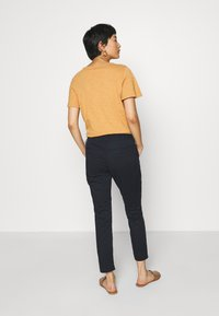 TOM TAILOR - TAPERED RELAXED - Trousers - dark blue - 2