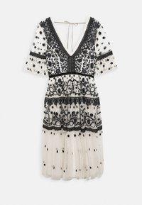 MIDSUMMER DRESS - Cocktail dress / Party dress - champagne/black
