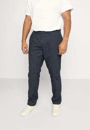 JJIACE JJDYLAN SOLID - Trousers - navy blazer