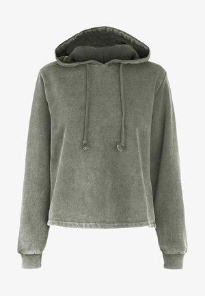 PCCHILLI LS - Hoodie - light grey melange