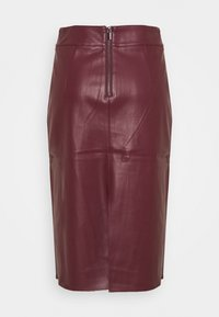 Dorothy Perkins - MIDI SKIRT - Pencil skirt - purple - 1