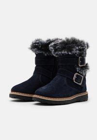 Friboo - Kotníkové boty - dark blue - 1