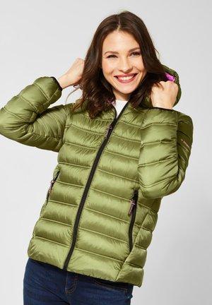 MIT KAPUZE - Winter jacket - green