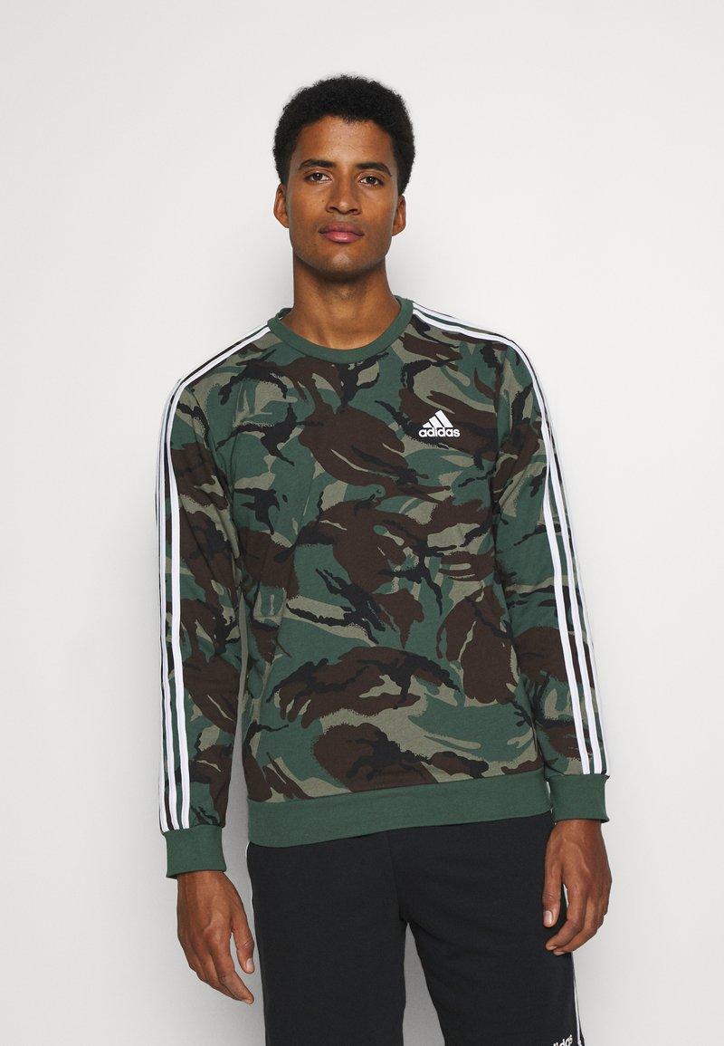 adidas Performance - CAMO - Sweatshirt - khaki
