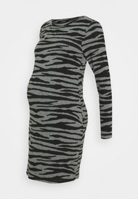 Supermom - DRESS ZEBRA - Jersey dress - black - 0