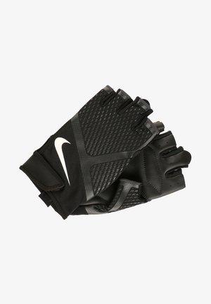 RENEGADE - Fingerless gloves - black/anthracite/white