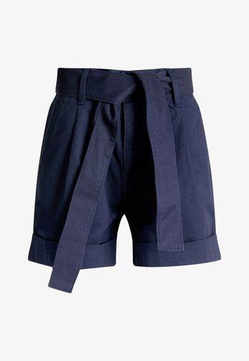 TJW MOM BELTED  - Shorts - twilight navy