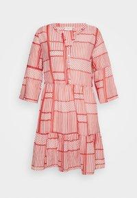 Kaffe Curve - KCPASTI DRESS 3/4 - Denní šaty - high risk red - 5