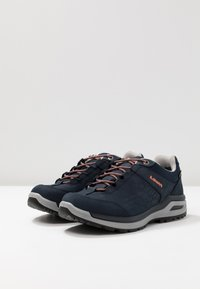 Lowa - LOCARNO GTX LO  - Hiking shoes - navy/mandarine - 2