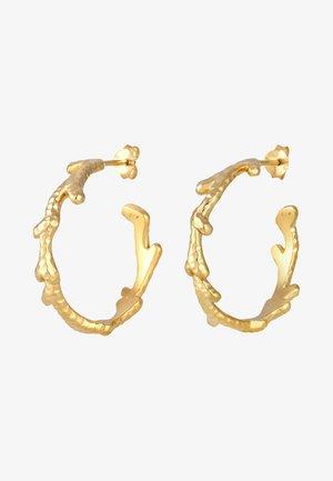 CREOLEN KORALLENZWEIGE - Ohrringe - gold-coloured