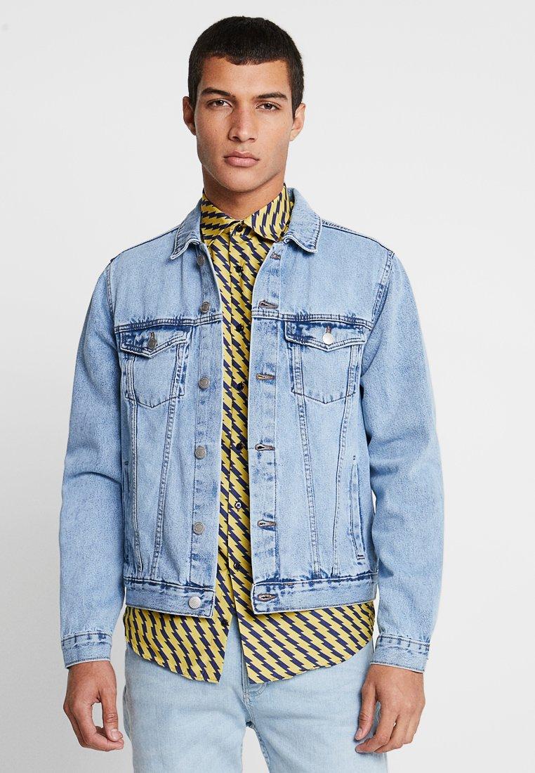 New Look - TRANS BASIC  - Denim jacket - light blue