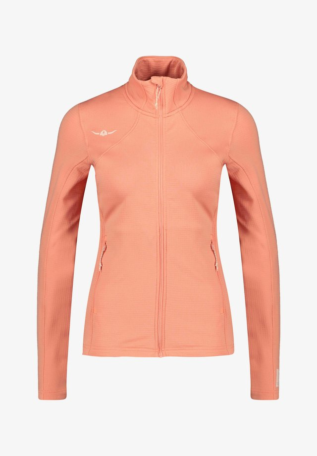 Fleece jacket - coral