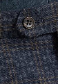 Next - REGULAR FIT CHECK SUIT - Pantaloni eleganti - blue - 3