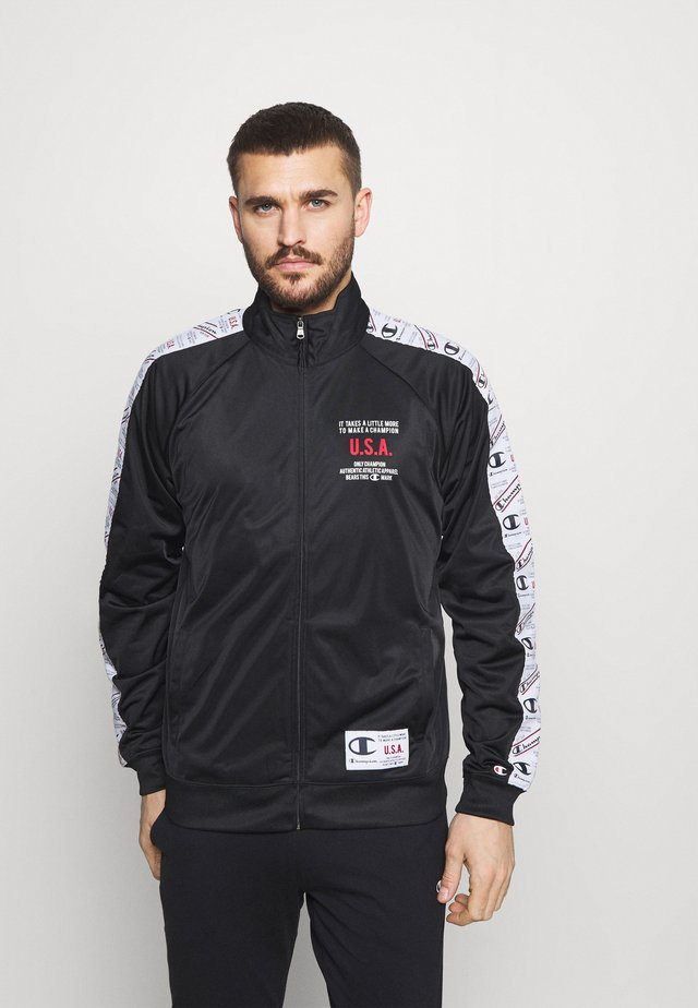FULL ZIP - Training jacket - black